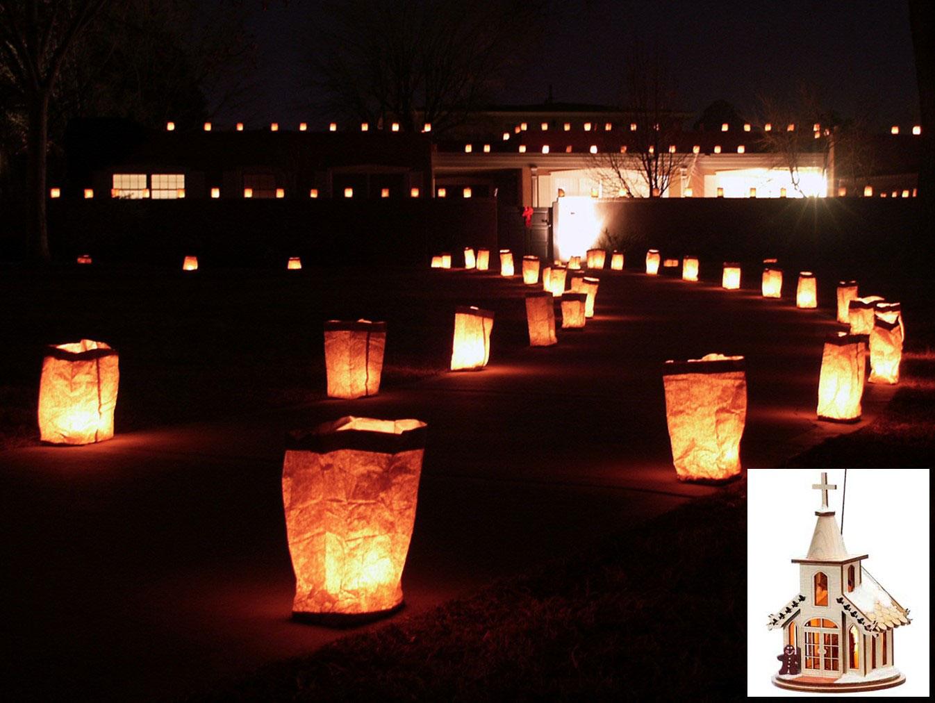 Christmas Around The World - American Soutwest Luminaries