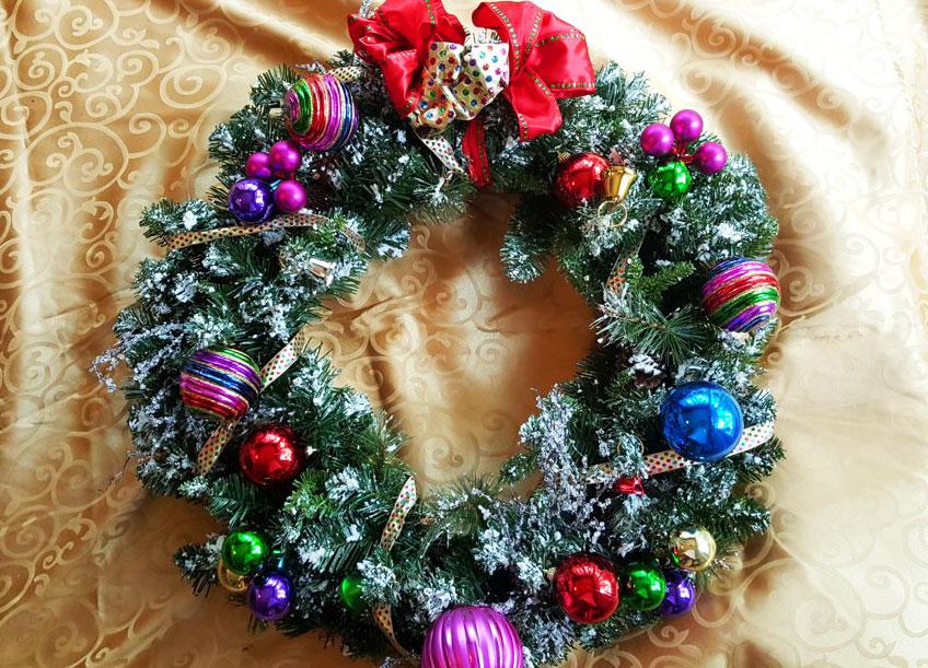 Christmas Wreath Final Image