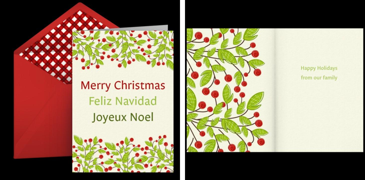 Christmas Cards - eCards