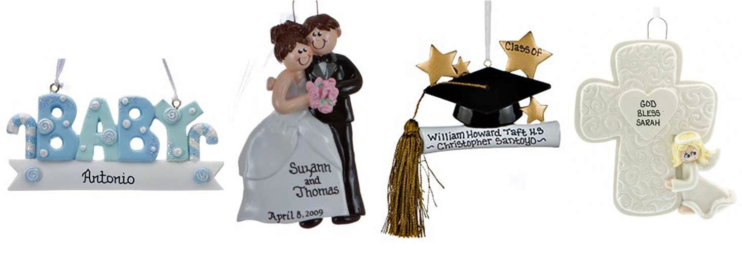 A selection of ornaments that make perfect gift toppers for every occasion | OrnamentShop.com