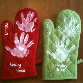 mothers day oven mitts