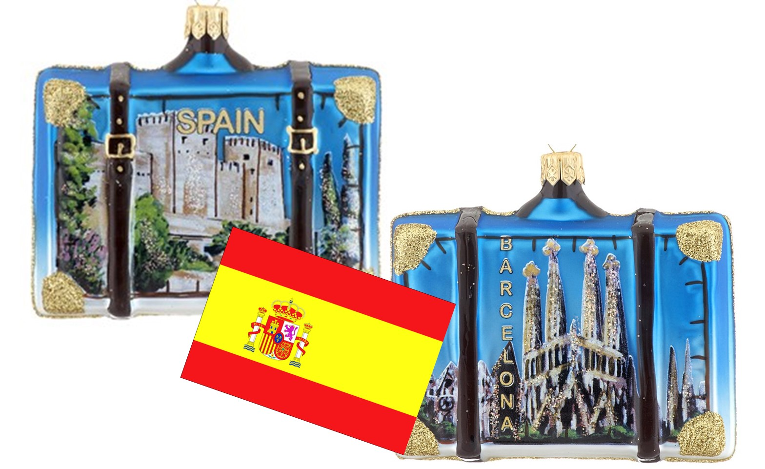 Christmas in Spain Ornaments