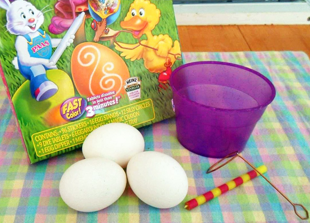 Dyed Easter Eggs Supplies