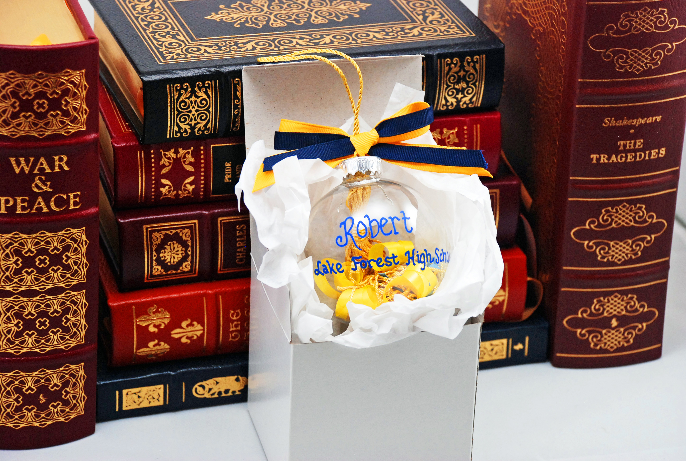 graduation tassel ornament boxed