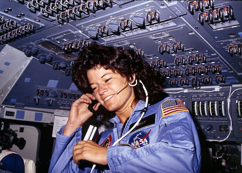 Women In Space Sally Ride Biography