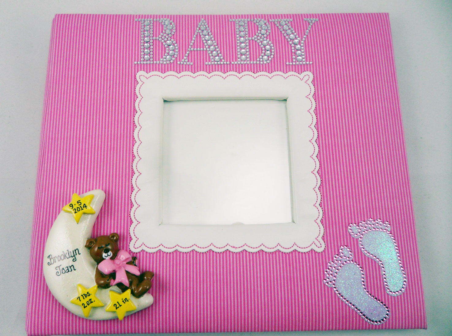 Make memories last with personalized baby gifts photo albums baby gifts negle Choice Image