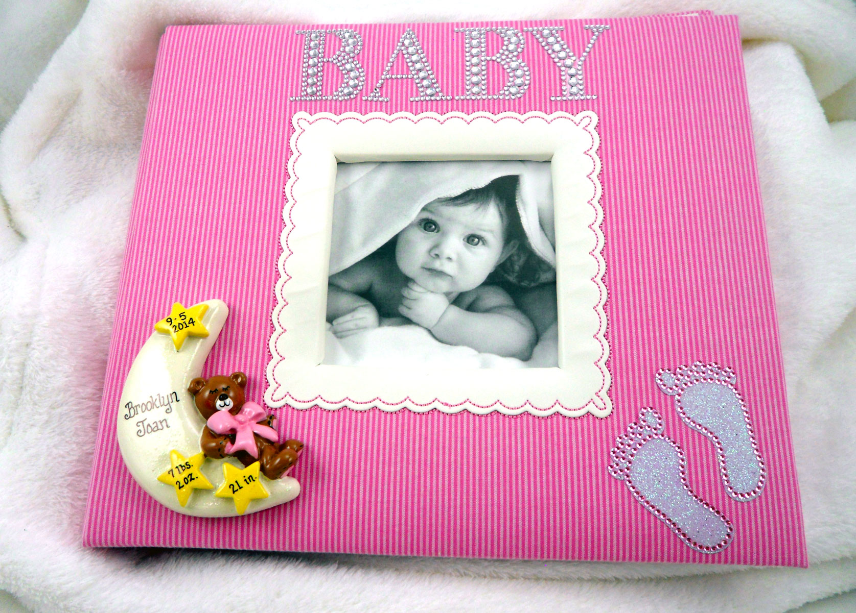 make memories last with personalized baby gifts photo albums