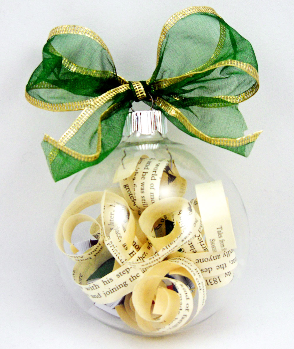 Book Club Christmas Party Ideas Part - 27: Book Club Ornament