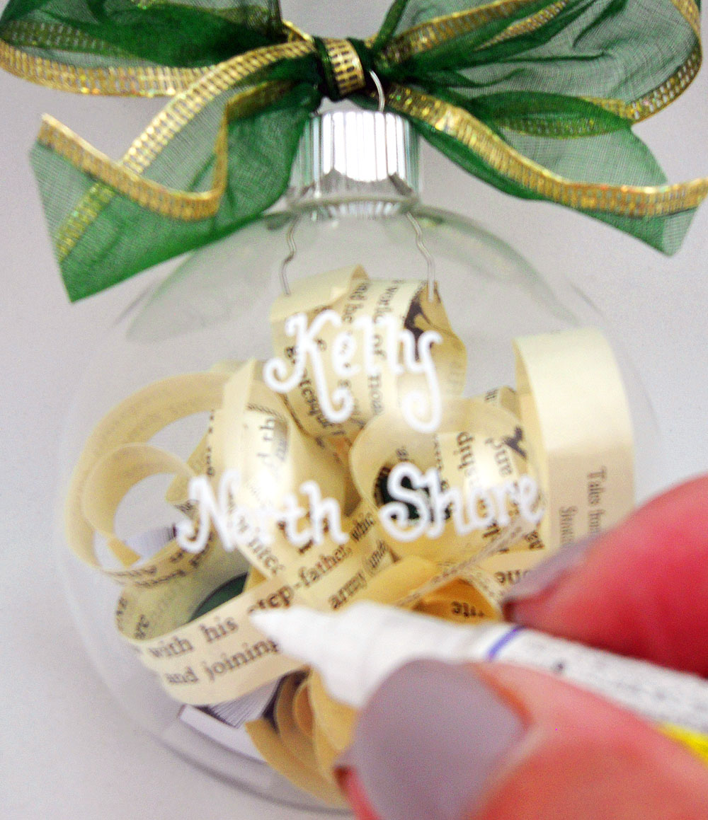 Book Club Christmas Party Ideas Part - 32: Book Club Ornament