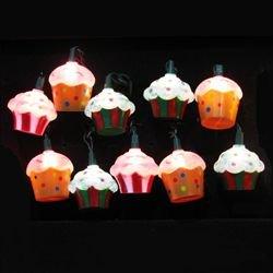 Cupcake Novelty Lights | OrnamentShop.com