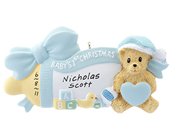 Personalized Ornament For Baby | OrnamentShop.com