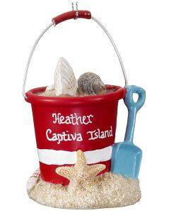 Sand Bucket Christmas Ornament | OrnamentShop.com