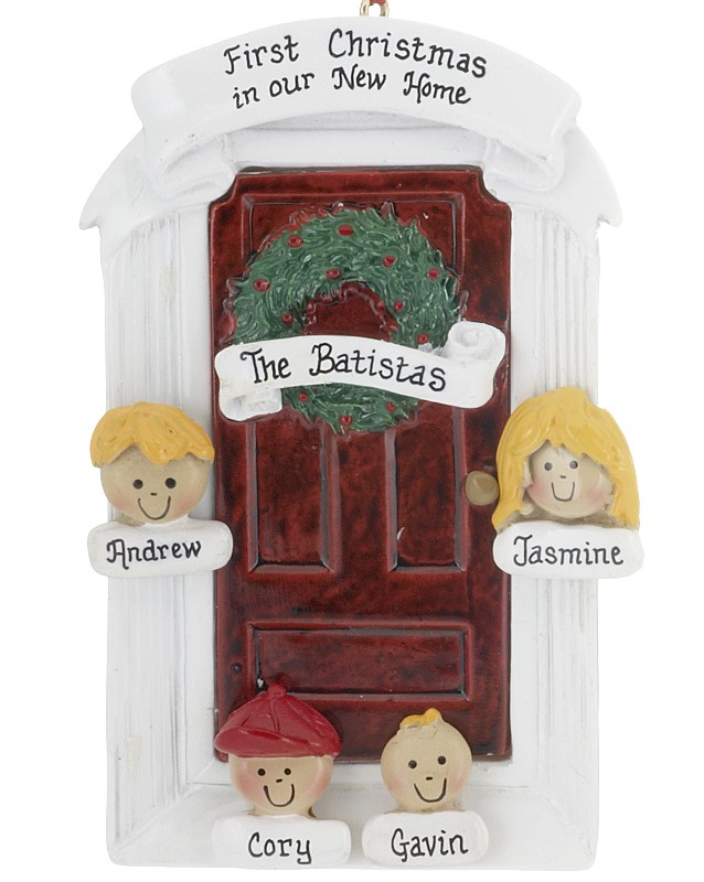Christmas in July is mean to celebrate life events year-round, such as a new home! | OrnamentShop.com