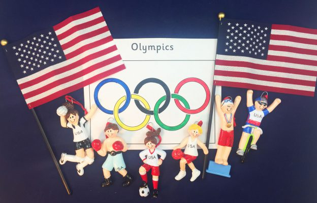 Personalized Ornaments For The 2016 Summer Olympics | OrnamentShop.com