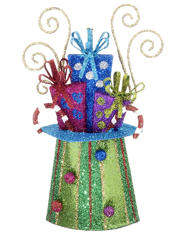 A sparkling gift decor to celebrate your celebrations, such as Christmas in July. | OrnamentShop.com