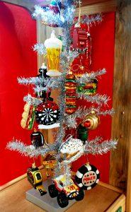 Man Cave Themed Christmas Tree | OrnamentShop.com