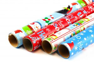 Cut The Wrapping Paper To Fit The Gift | OrnamentShop.com