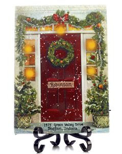Holiday House LED Lighted Plaque Christmas Ornament | OrnamentShop.com