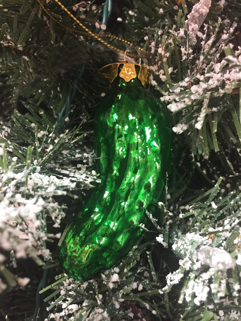 The History Of The Christmas Pickle Tradition | OrnamentShop.com