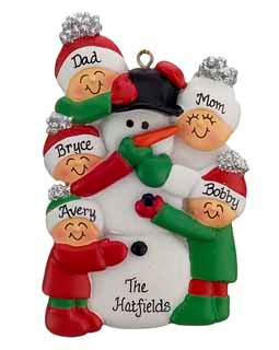 frosty-snowman-family-ornament