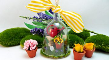 Cloche Spring Decorations