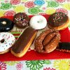 A plate of doughnuts with a hidden donut ornament | OrnamentShop