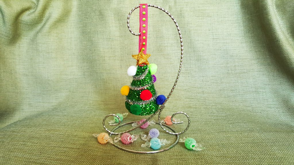 Easy Christmas Crafts For Kids Diy Christmas Tree Ornament