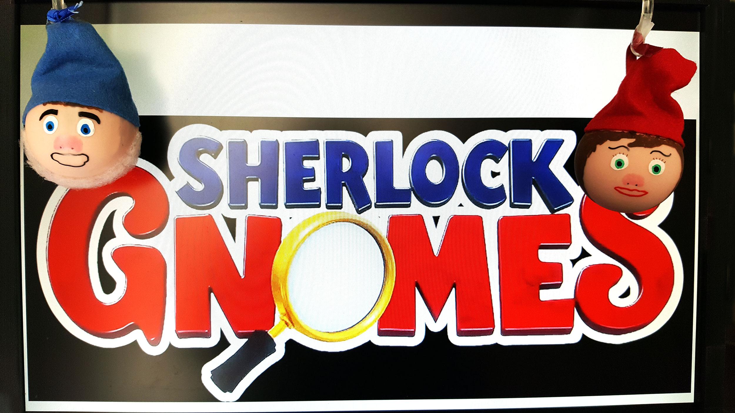 Two Sherlock Gnomes Ornaments | OrnamentShop.com