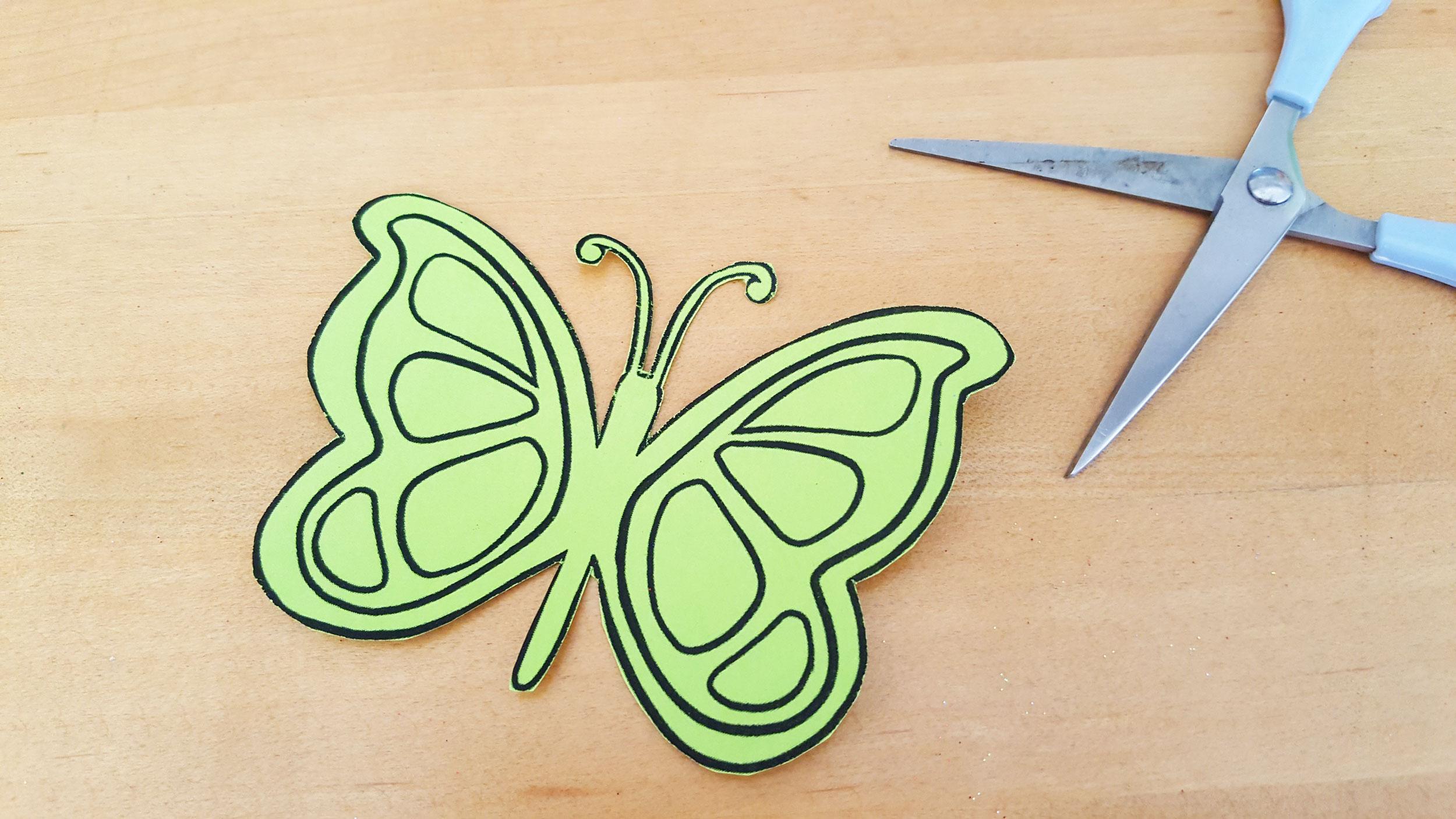 Step 2: Carefully cut out the design. | OrnamentShop.com
