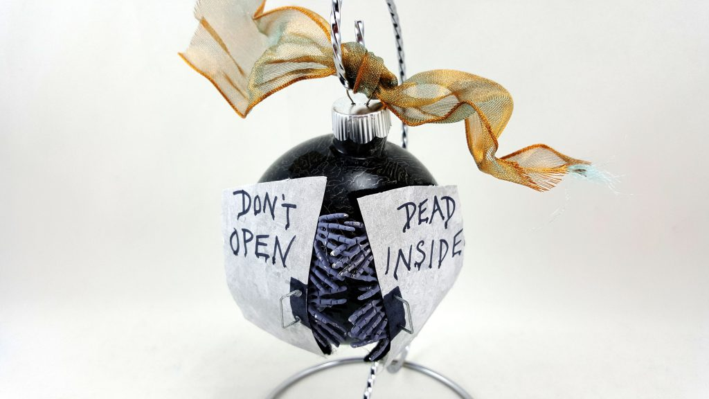 DIY Walking Dead Ornaments Featured Image