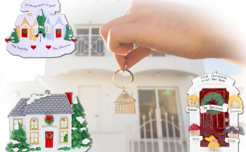 A new home is the perfect occasion to celebrate with a personalized ornament. | OrnamentShop.com