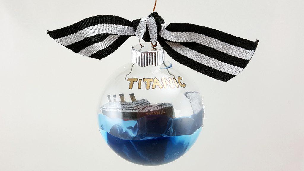 A DIY Titanic ornament for you to make. | OrnamentShop.com