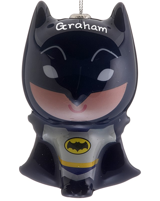 The perfect Christmas ornament for a child, find superhero ornaments like Batman. | OrnamentShop.com