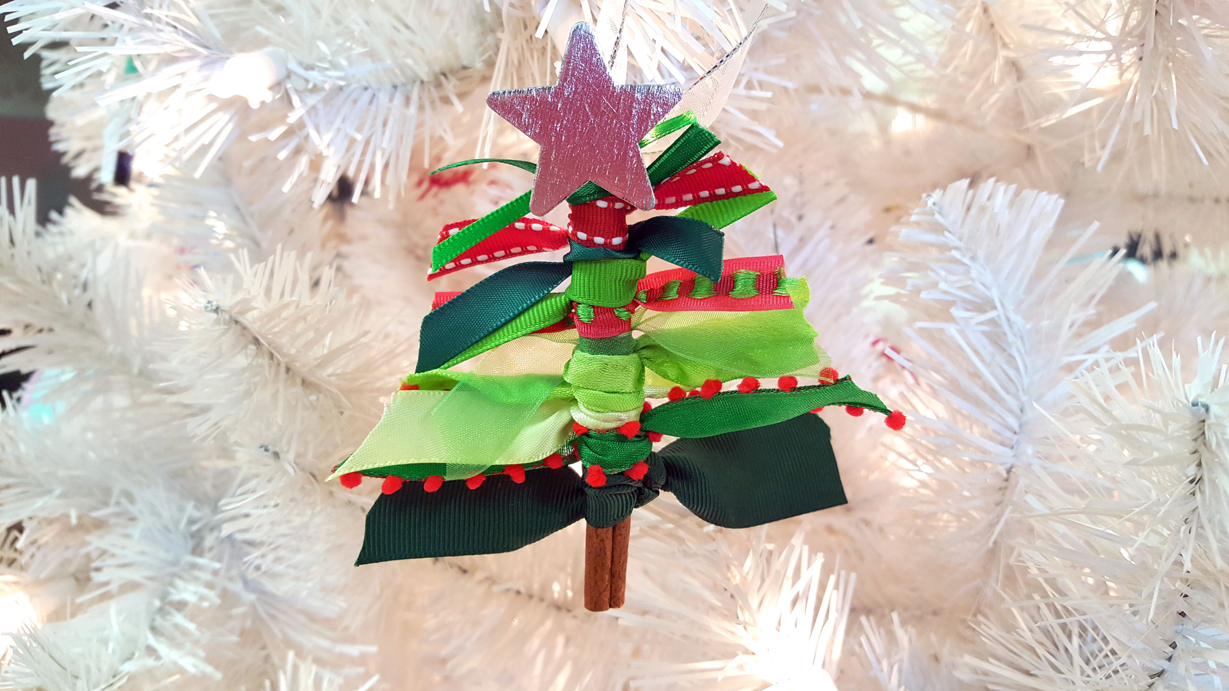 Start A New Family Tradition With Our Ribbon Christmas Tree Ornaments