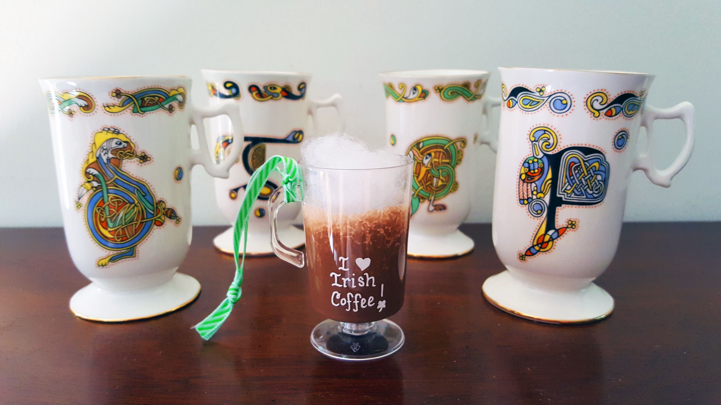 Completed Irish Coffee Ornament | OrnamentShop.com
