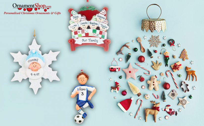 Where to buy personalized ornaments? Find unique and handmade Christmas ornaments. | OrnamentShop.com
