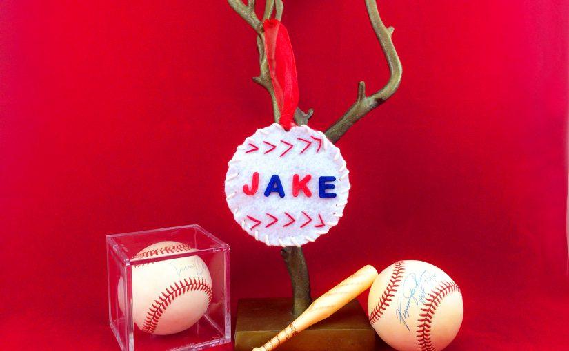Baseball Ornament Feature
