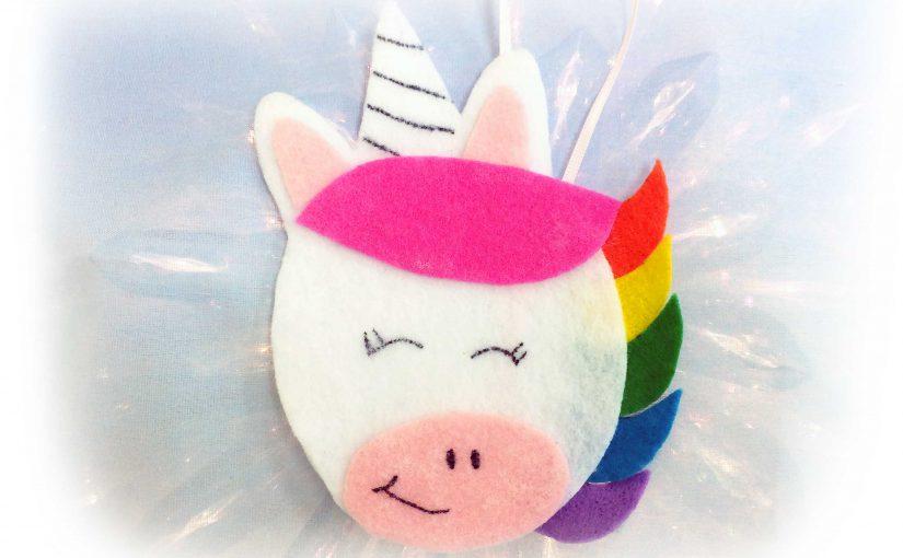 DIY Unicorn Ornament Rainbow party decorations | OrnamentShop.com