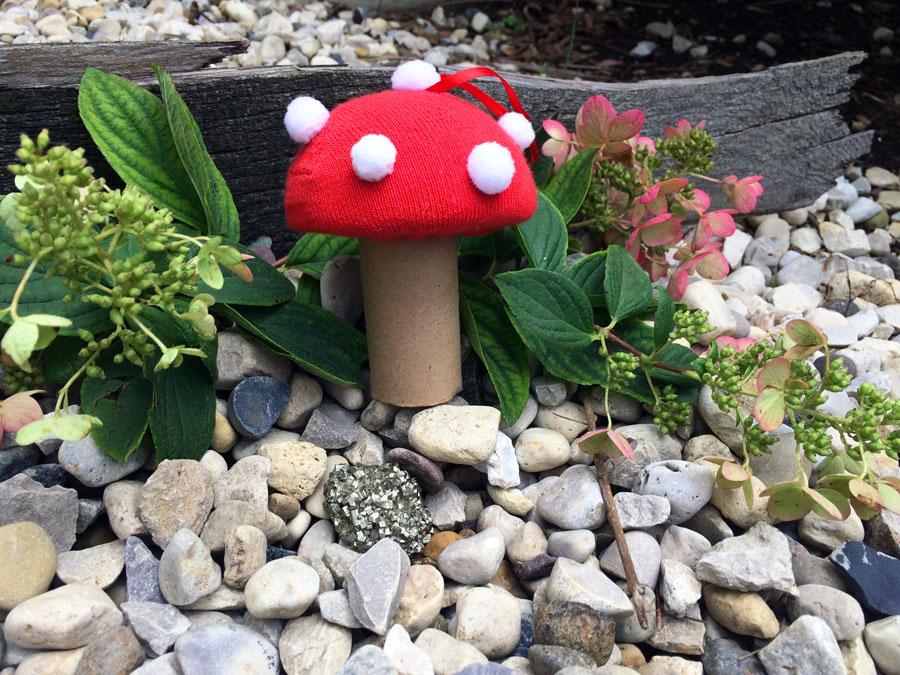 DIY Toadstool Ornament in nature | OrnamentShop.com