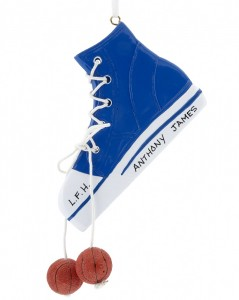Basketball Ornament - Shoe