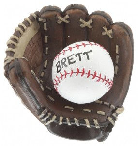 Baseball Glove Baseball Ornament