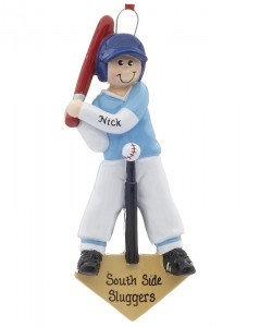 T-Ball Baseball Ornament