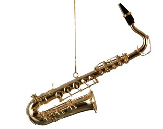 Music Ornaments - Saxophone