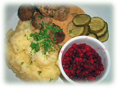 Christmas in Sweden: Swedish Meatballs