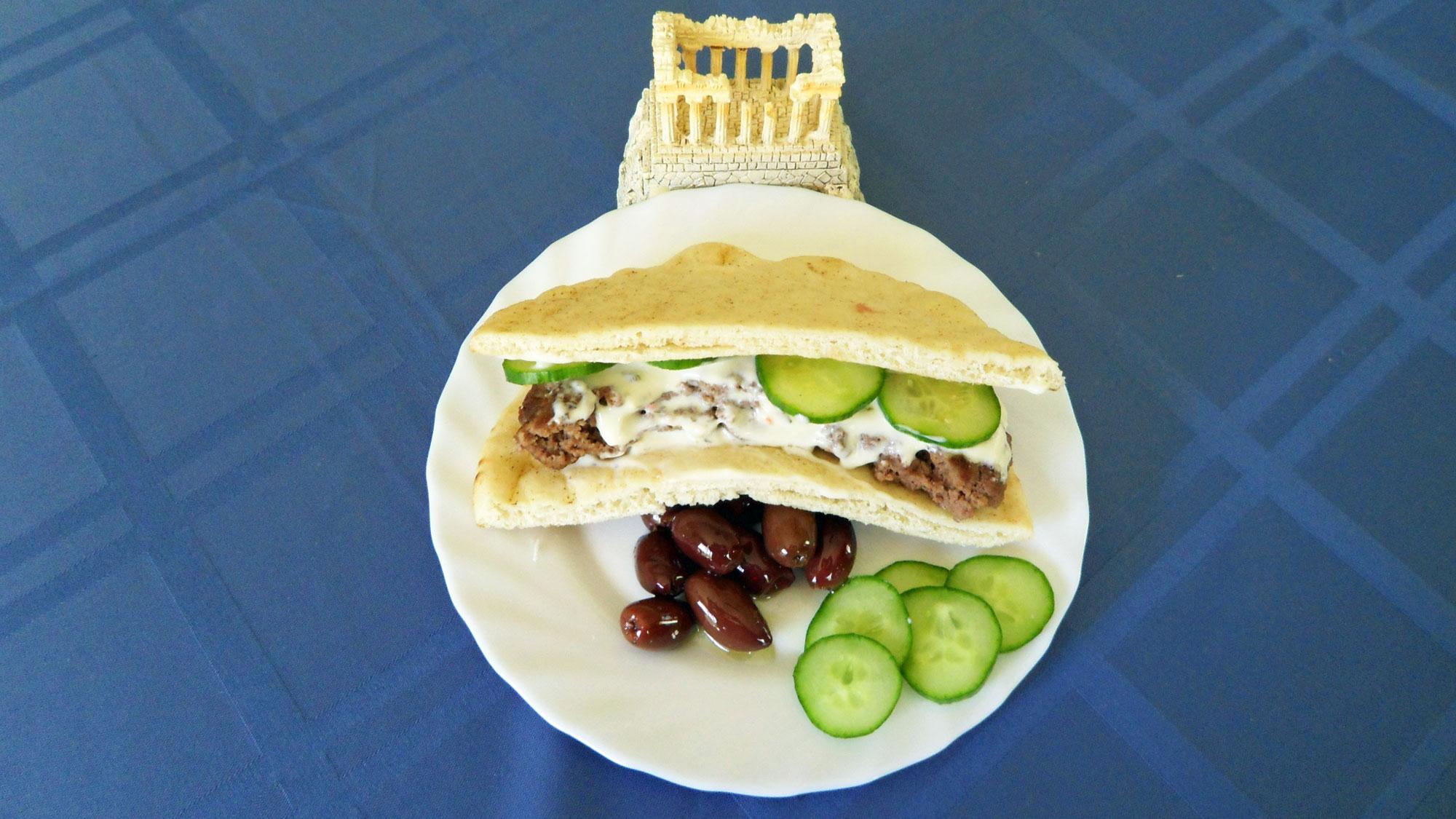Greek-Hamburger