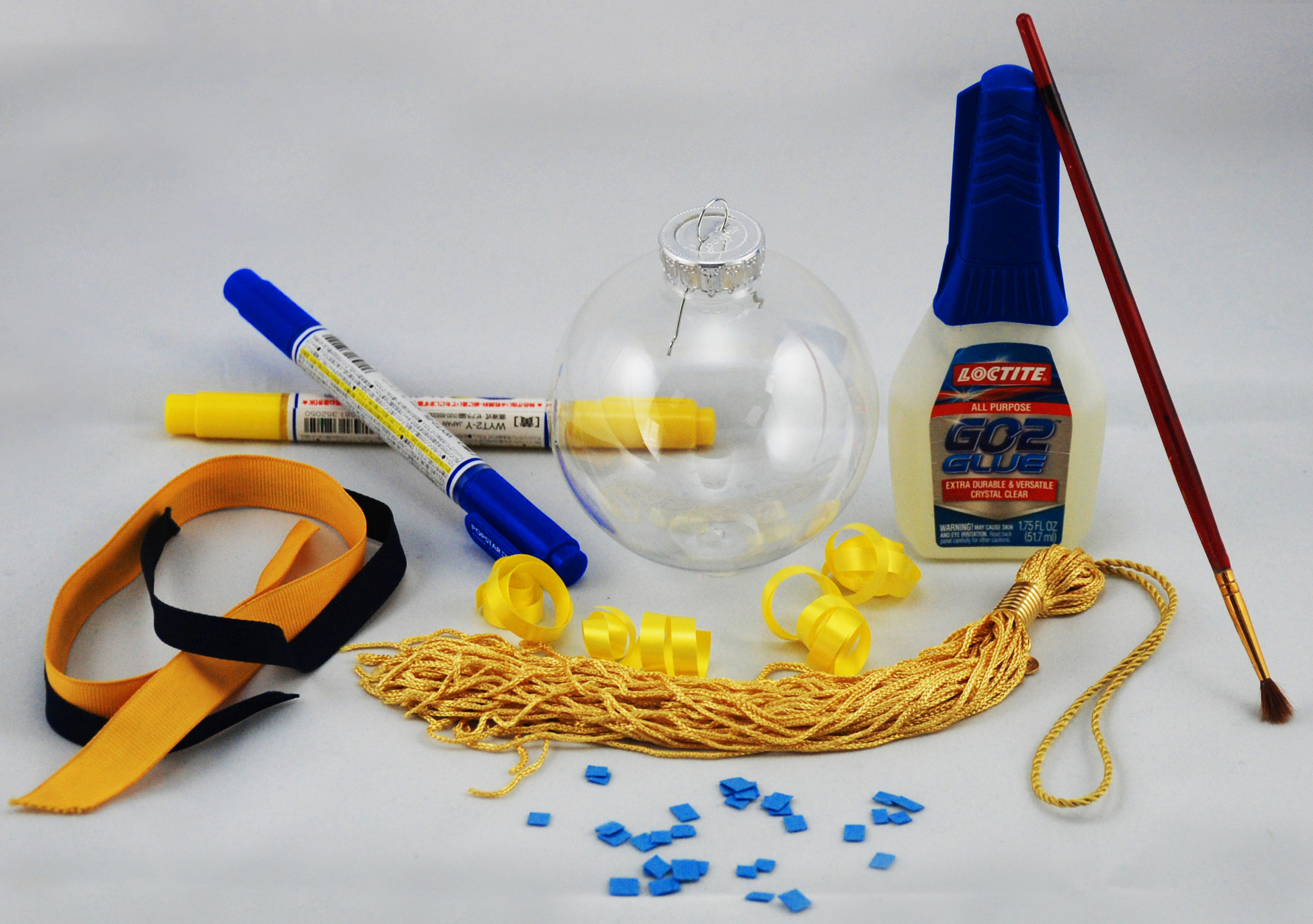 graduation tassel ornament supplies